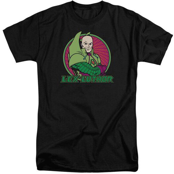 Dc Lex Luthor Short Sleeve Adult Tall T-Shirt