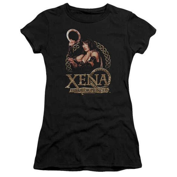 Xena Royalty Short Sleeve Junior Sheer T-Shirt