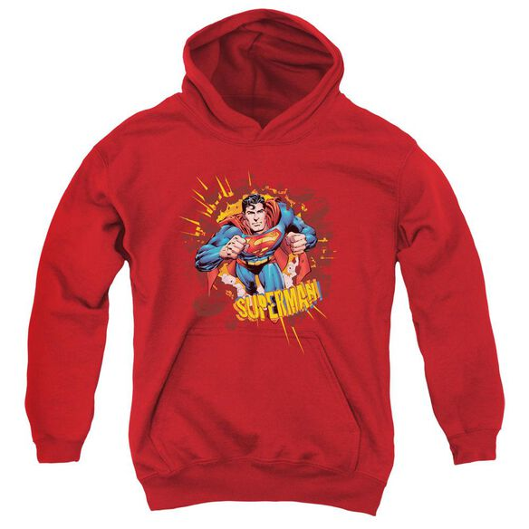 Superman Sorry About The Wall Youth Pull Over Hoodie