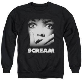 Scream Poster Adult Crewneck Sweatshirt