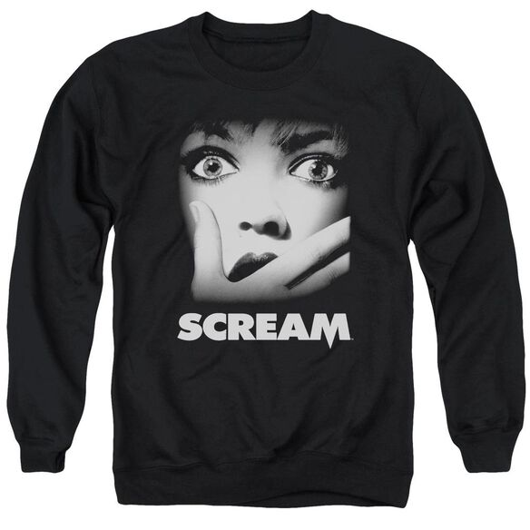 Scream Poster Adult Crewneck Sweatshirt