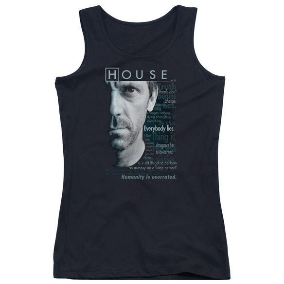 House Houseisms Juniors Tank Top