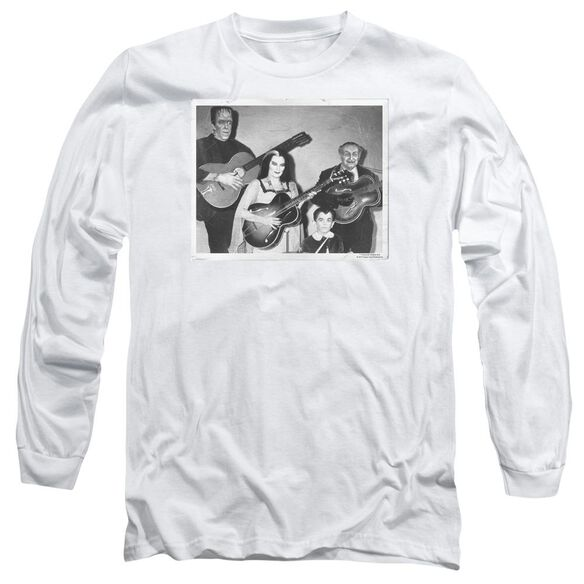 The Munsters Play It Again Long Sleeve Adult T-Shirt
