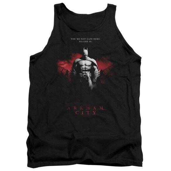 Arkham City Standing Strong - Adult Tank - Black