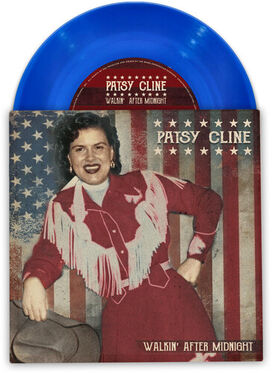 Patsy Cline - Walkin' After Midnight (Colored 7')