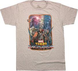 Thor Ragnarok Cosmic Group T-Shirt