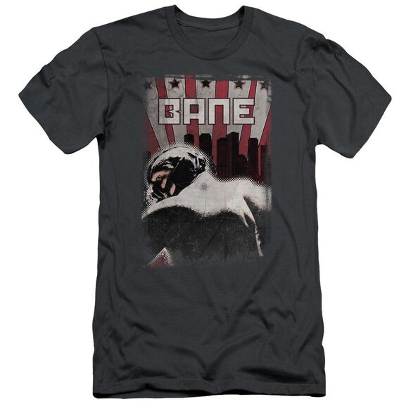 Dark Knight Rises Bane Poster Short Sleeve Adult T-Shirt