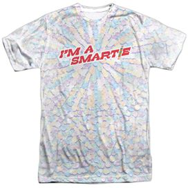 Smarties Candy Explosion Short Sleeve Adult 100% Poly Crew T-Shirt