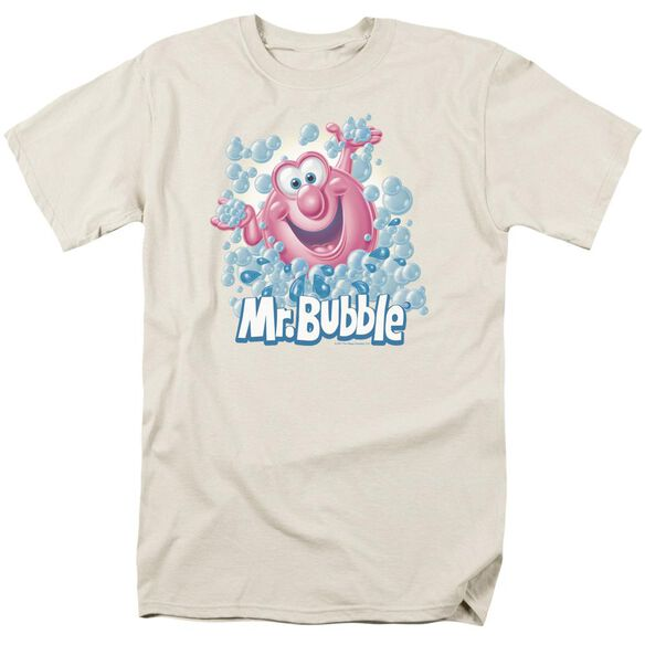 Mr Bubble Modern Bubble Short Sleeve Adult T-Shirt