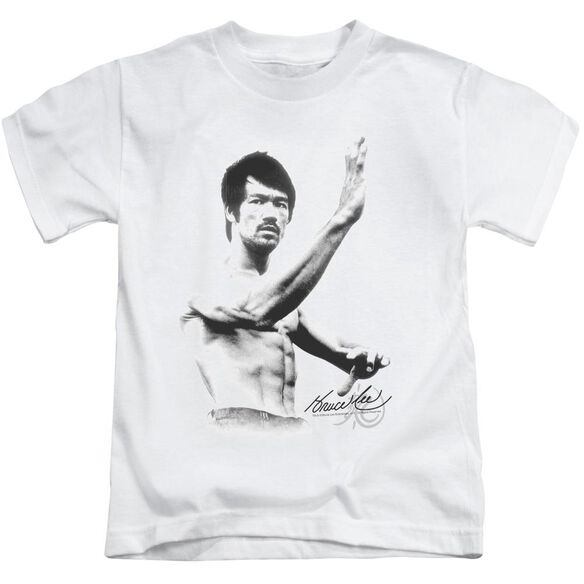 Bruce Lee Serenity Short Sleeve Juvenile White T-Shirt