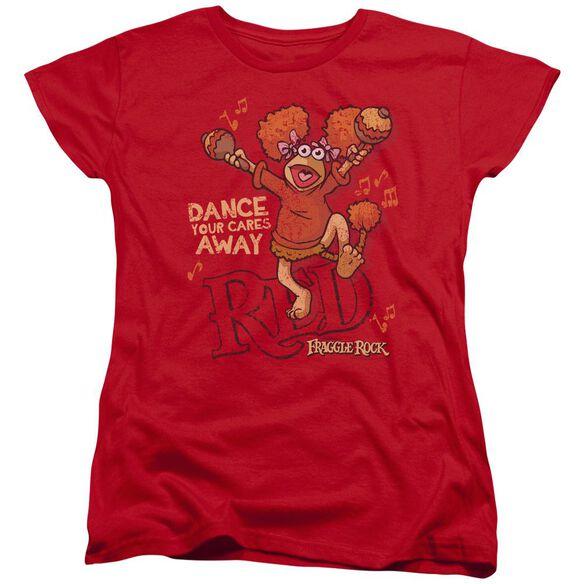 Fraggle Rock Dance Short Sleeve Womens Tee T-Shirt