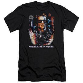 Terminator Your Future Premuim Canvas Adult Slim Fit