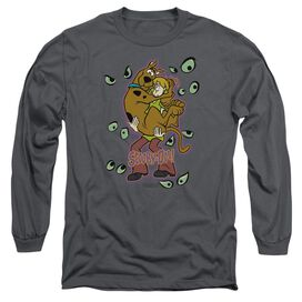SCOOBY DOO BEING WATCHED-L/S T-Shirt