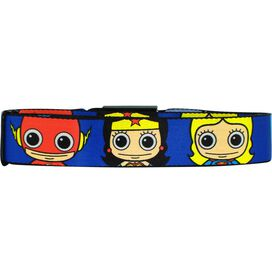 DC Comics Toon Faces Seatbelt Mesh Belt