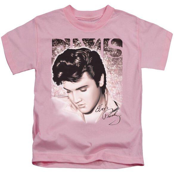 ELVIS PRESLEY STAR LIGHT - S/S JUVENILE 18/1 - PINK - T-Shirt