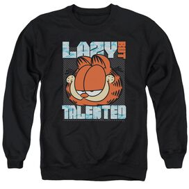 Garfield Lazy But Talented Adult Crewneck Sweatshirt