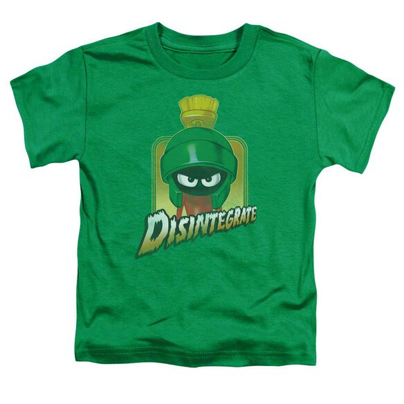 Looney Tunes Disintegrate Short Sleeve Toddler Tee Kelly Green T-Shirt