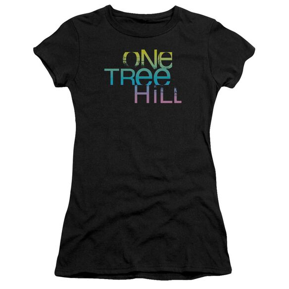 One Tree Hill Color Blend Logo Premium Bella Junior Sheer Jersey