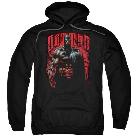 Batman Red Knight Adult Pull Over Hoodie