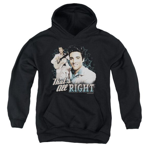 Elvis Presley Thats All Right Youth Pull Over Hoodie