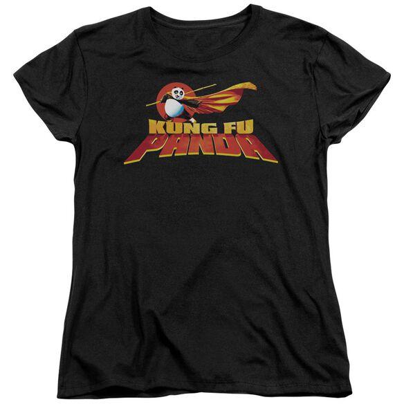 Kung Fu Panda Logo Short Sleeve Womens Tee T-Shirt