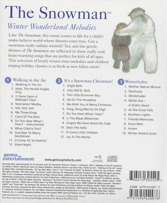 Snowman Winter Wonderl3 Cd