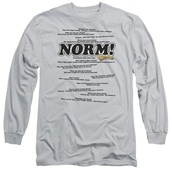 Cheers Normisms Long Sleeve Adult T-Shirt