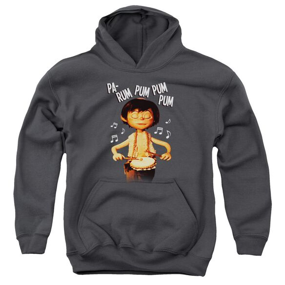 Little Drummer Boy Drum Beat Youth Pull Over Hoodie