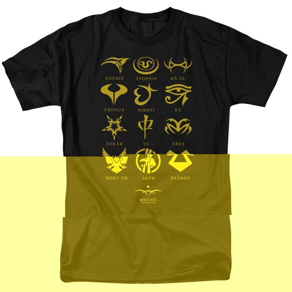 SG1 GOAULD CHARACTERS-S/S T-Shirt