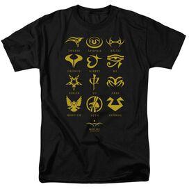 Sg1 Goa'uld Characters Short Sleeve Adult T-Shirt