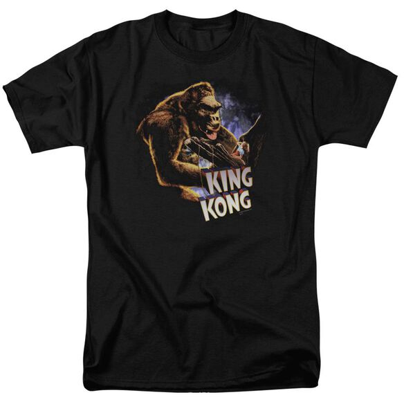 King Kong Kong And Ann Short Sleeve Adult T-Shirt