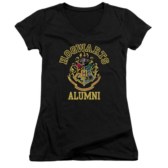 Harry Potter Hogwarts Alumni Junior V Neck T-Shirt