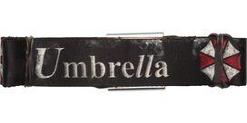 Resident Evil Umbrella Weathered Seatbelt Belt