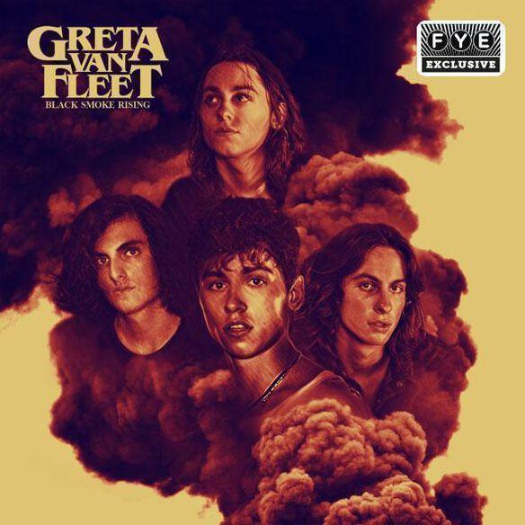 Greta Van Fleet - Black Smoke Rising [Exclusive Opaque Yellow Vinyl]