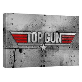 Top Gun Logo Quickpro Artwrap Back Board