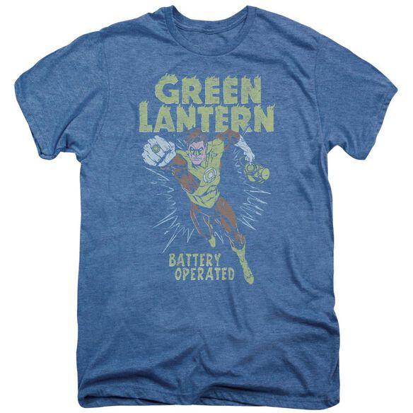 Green Lantern Battery Operated Short Sleeve Adult Premium Tee Deep Sea T-Shirt