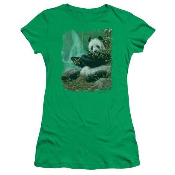 Wildlife Citizen Of Heaven On Earth Short Sleeve Junior Sheer Kelly T-Shirt