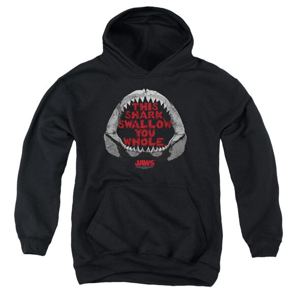 Jaws This Shark Youth Pull Over Hoodie