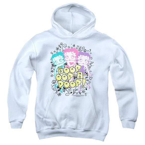 Betty Boop Sketch Youth Pull Over Hoodie
