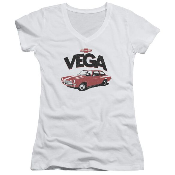 Chevrolet Rough Vega Junior V Neck T-Shirt
