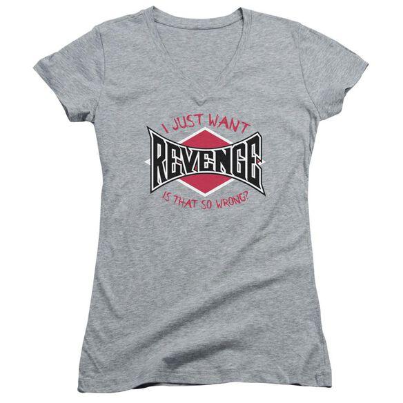 Revenge Junior V Neck Athletic T-Shirt