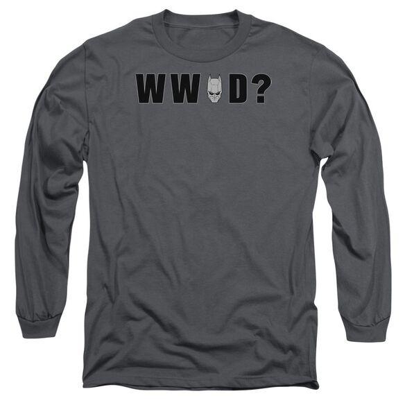 Dark Knight Wwbd Head Long Sleeve Adult T-Shirt
