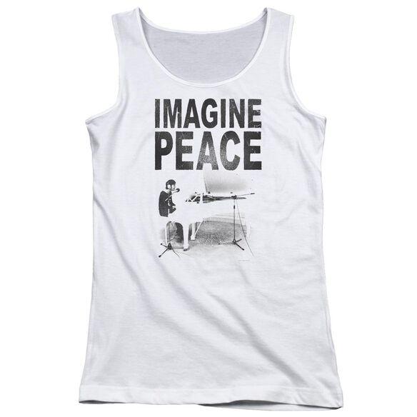 John Lennon Imagine Juniors Tank Top