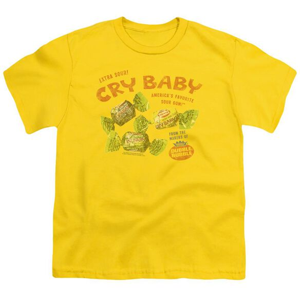 Cry Babies Vintage Ad Short Sleeve Youth T-Shirt