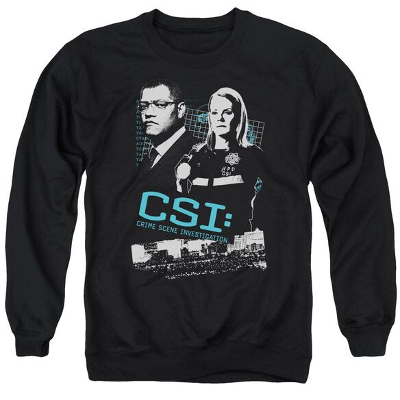 Csi Investigate This Adult Crewneck Sweatshirt