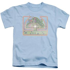 Atari Classic Centipede Short Sleeve Juvenile Light Blue T-Shirt