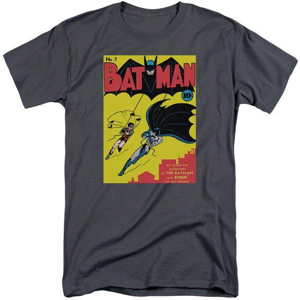 Batman Batman First Short Sleeve Adult Tall T-Shirt