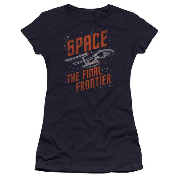Star Trek Space Travel Premium Bella Junior Sheer Jersey