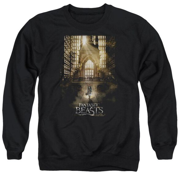 Fantastic Beasts Poster Adult Crewneck Sweatshirt