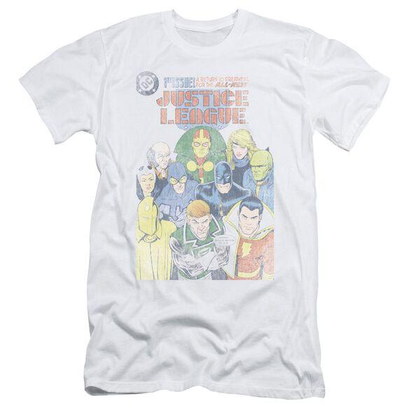 Jla Justice League #1 Cover Short Sleeve Adult T-Shirt